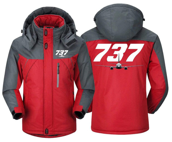 MA1 Windbreaker Jackets Blue Gray / XS Boeing -737