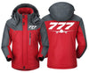 MA1 Windbreaker Jackets Red Gray / XS Boeing-777