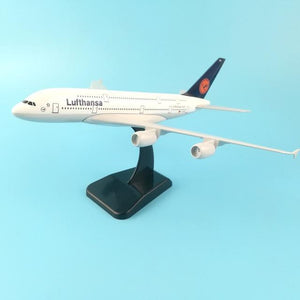 PILOTSX 20CM 248 20cm Alloy Metal Air EMIRATES A380 Model United Arab Emirates Airbus, Boeing 777 380 Airways Plane Model Aircraft Gifts