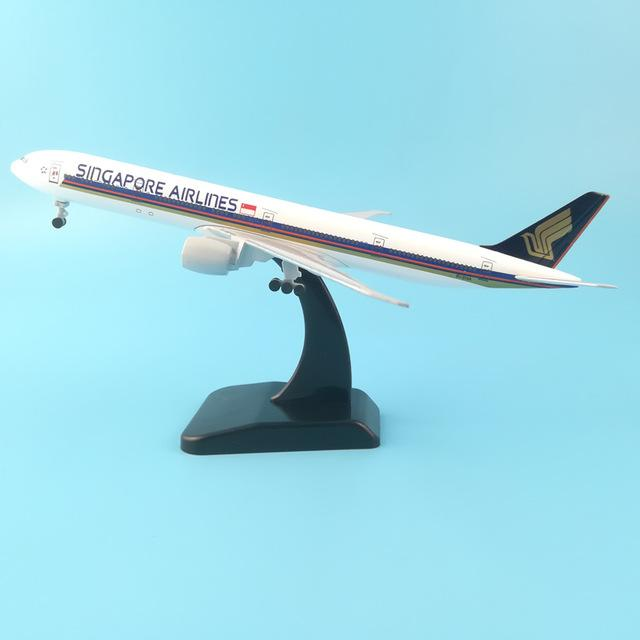 PILOTSX 20CM 253 20cm Alloy Metal Air EMIRATES A380 Model United Arab Emirates Airbus, Boeing 777 380 Airways Plane Model Aircraft Gifts