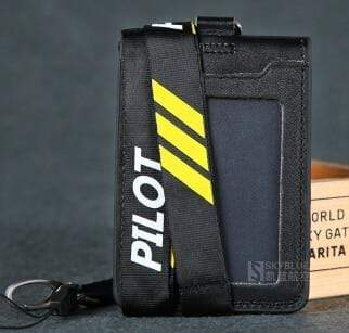 PILOTSX 3 lines Pilot / Co-Pilot's Lanyard with Card