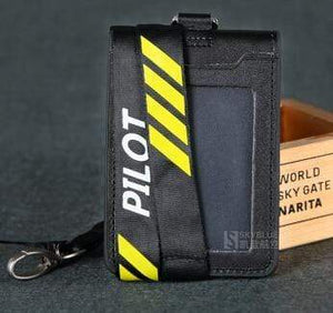 PILOTSX 4 lines Pilot / Co-Pilot's Lanyard with Card