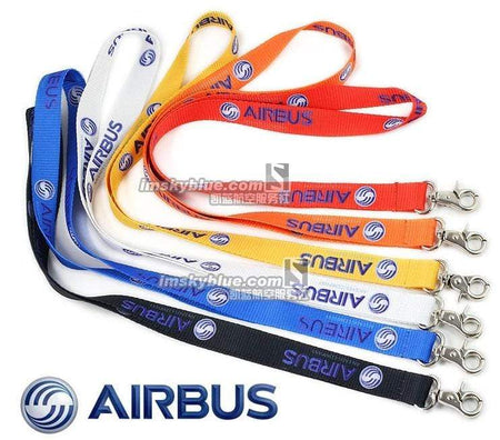 PILOTSX 6 colors Airbus Logo Sling for Pliot Flight Crew License ID Card Holder
