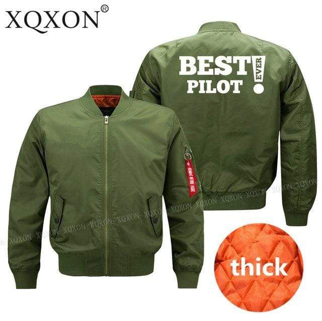 PilotsX Army green thick / S Best Pilot