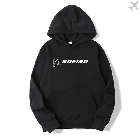 PILOTSX HOODIES Black / S New Boeing