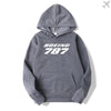 PILOTSX HOODIES Dark Gray / S Boeing 787