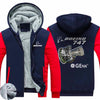 PILOTSX HOODIES Red / S The GEnx B747 Zipper Sweaters