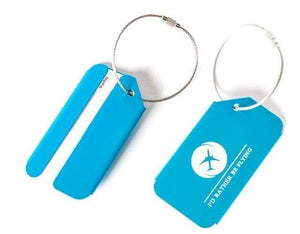 PILOTSX I d rather flying Pilot Metal Luggage Tag Alloy