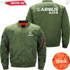 PILOTSX Jacket Army green thick / S Airbus A319 Jacket -US Size