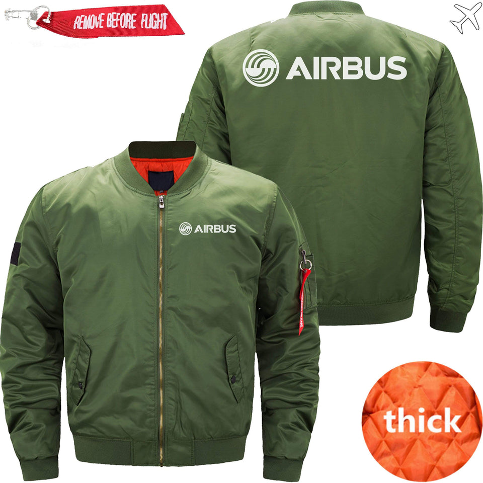 PilotsX Jacket Army green thick / S Airbus Logo Jacket -US Size