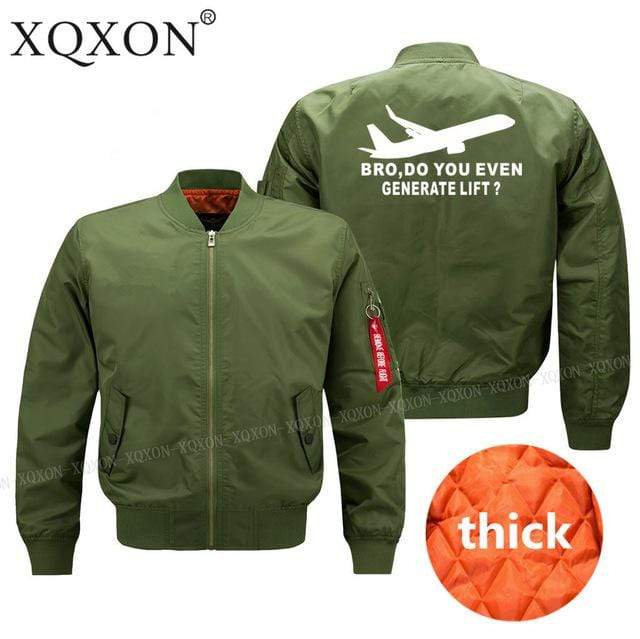 PILOTSX Jacket Army green thick / S Do You Even Generate Lift? Jacket -US Size