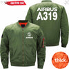 PilotsX Jacket Army green thick / XS Airbus A319 Jacket -US Size