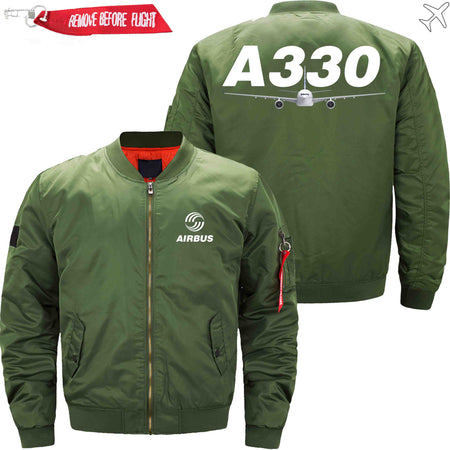 PilotsX Jacket Black thick / S Airbus A330 Jacket -US Size