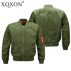 PilotsX Jacket Army green thin / S Aviator Paper Airplane Dreams Jacket -US Size