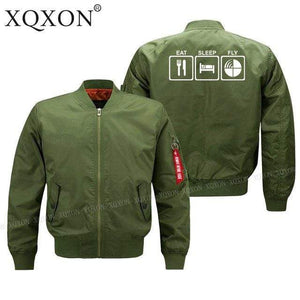 PILOTSX Jacket Army green thin / S EAT SLEEP FLY Jacket -US Size