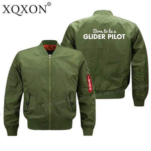 PILOTSX Jacket Army green thin / S Glider pilot Jacket -US Size