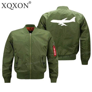 PILOTSX Jacket Army green thin / S Large aircraft Jacket -US Size
