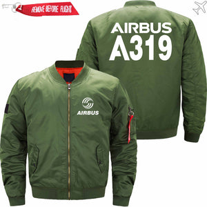 PilotsX Jacket Army green thin / XS Airbus A319 Jacket -US Size