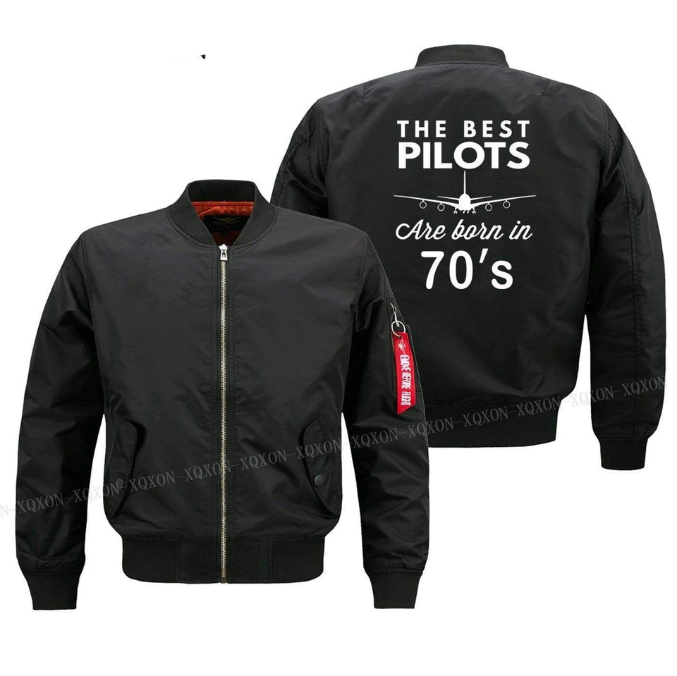 PILOTSX Jacket Best pilots are born in 70's Jacket -US Size