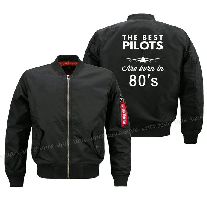 PILOTSX Jacket Best pilots are born in 80's Jacket -US Size