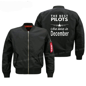 PilotsX Jacket Best pilots are born in December Jacket -US Size