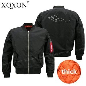 PilotsX Jacket Black thick / S Aviator Paper Airplane Dreams Jacket -US Size