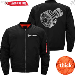 PilotsX Jacket Black thick / S CFM56 Jacket -US Size