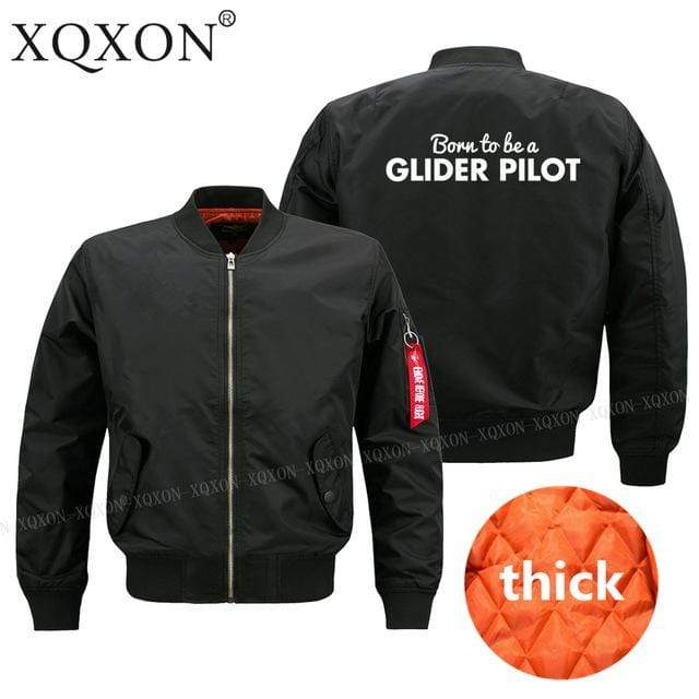 PILOTSX Jacket Black thick / S Glider pilot Jacket -US Size
