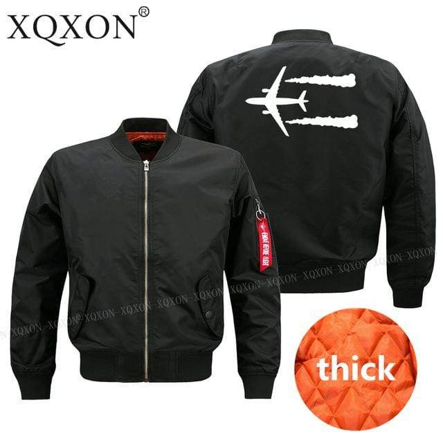 PilotsX Jacket Black thick / S Jet aircraft Jacket -US Size