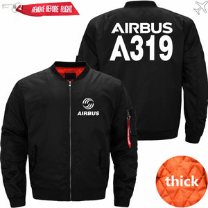 PilotsX Jacket Black thick / XS Airbus A319 Jacket -US Size
