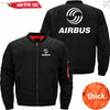 PilotsX Jacket Black thick / XS Airbus Logo Jacket -US Size