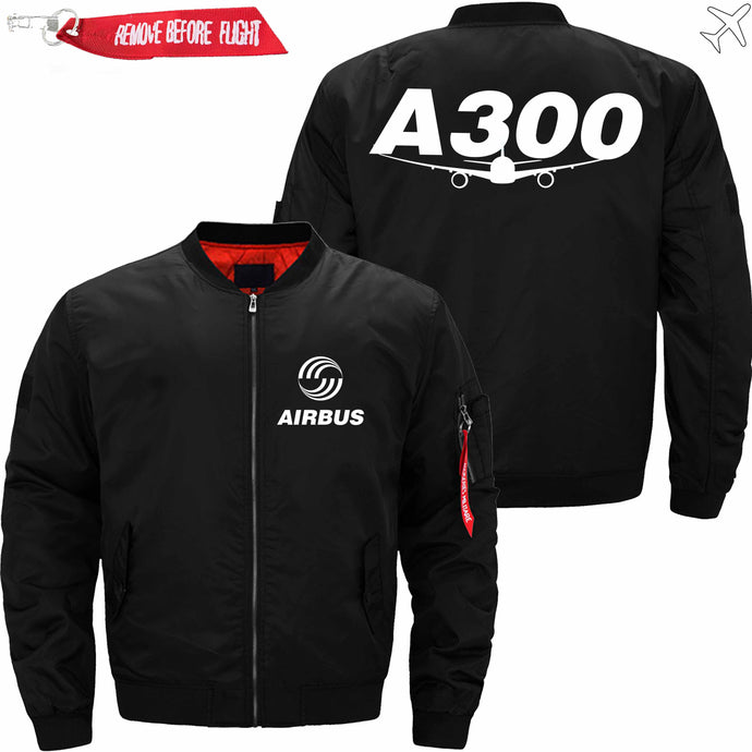 PilotsX Jacket Black thin / S Airbus A300 Jacket -US Size