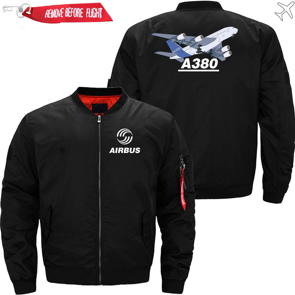 PilotsX Jacket Black thin / S Airbus A380