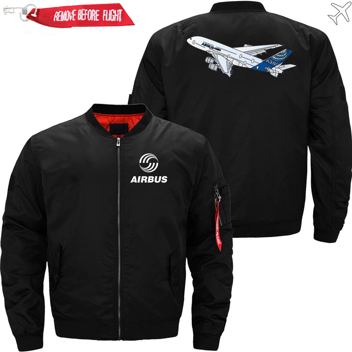 PilotsX Jacket Black thin / S Airbus A380 Flying