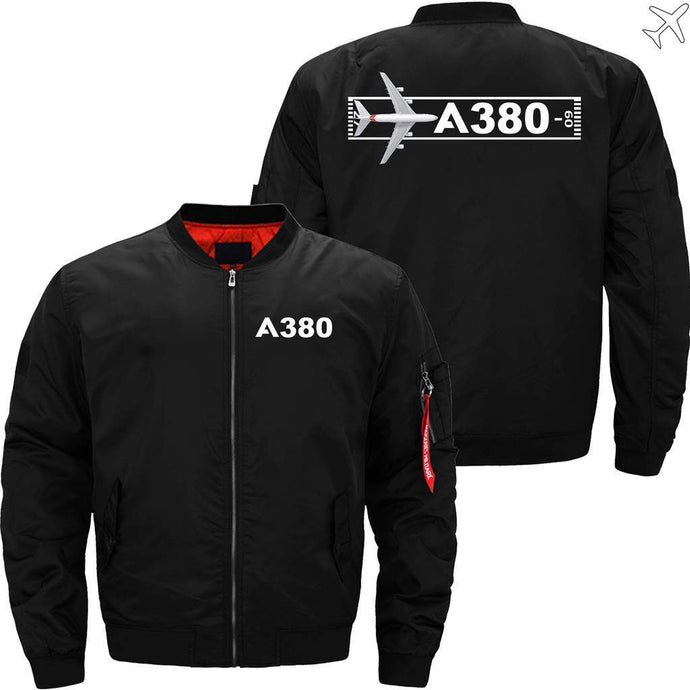 PilotsX Jacket Black thin / S Airbus A380 Takeoff Time