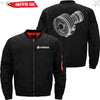 PilotsX Jacket Black thin / S CFM56 Jacket -US Size