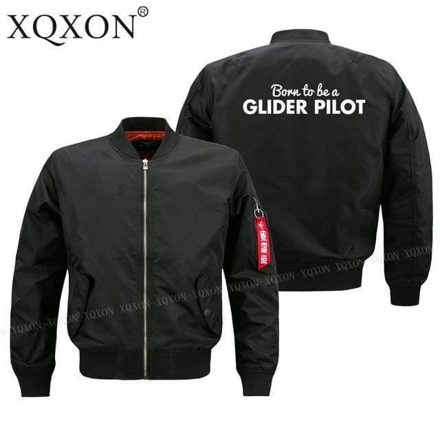 PILOTSX Jacket Black thin / S Glider pilot Jacket -US Size