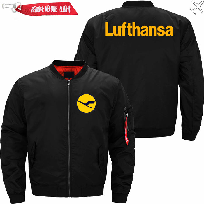 PilotsX Jacket Black thin / S Lufthansa Airlines Jacket -US Size