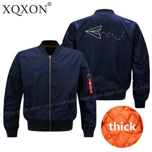 PilotsX Jacket Dark blue thick / S Aviator Paper Airplane Dreams Jacket -US Size
