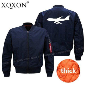 PILOTSX Jacket Dark blue thick / S Large aircraft Jacket -US Size