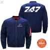 PilotsX Jacket Dark blue thick / S The B 747 Jacket -US Size