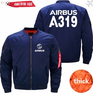 PilotsX Jacket Dark blue thick / XS Airbus A319 Jacket -US Size