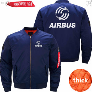 PilotsX Jacket Dark blue thick / XS Airbus Logo Jacket -US Size