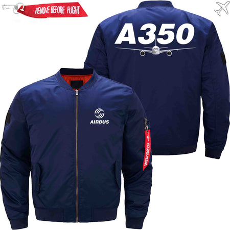 PilotsX Jacket Black thick / S Airbus A350 Jacket -US Size
