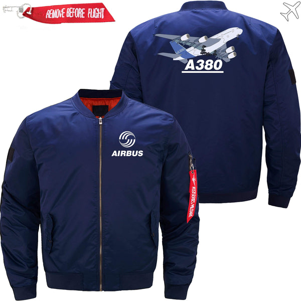 PilotsX Jacket Army green thick / S Airbus A380