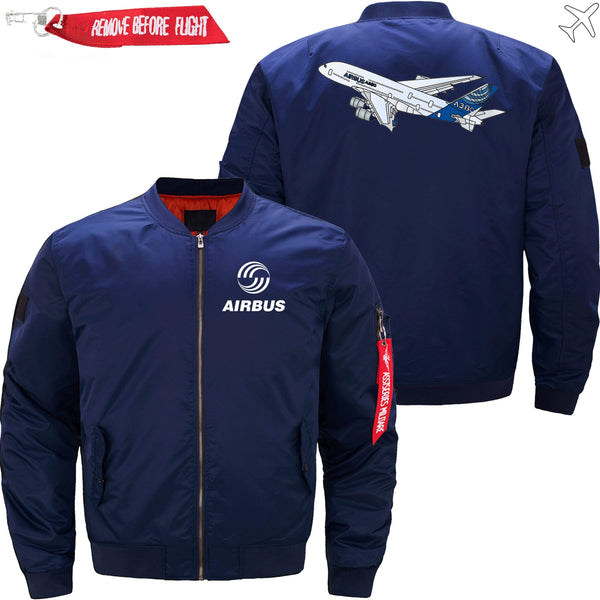 PilotsX Jacket Army green thick / S Airbus A380 Flying