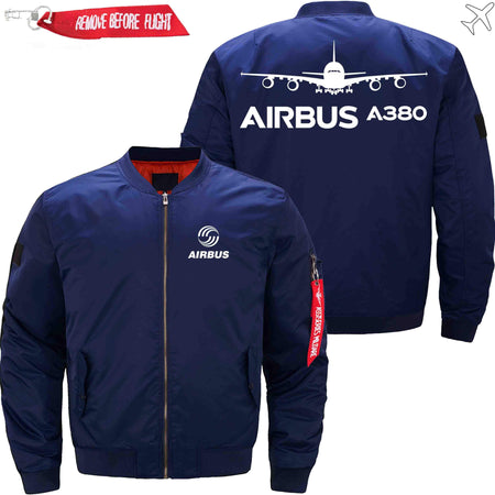 PilotsX Jacket Army green thick / S Airbus A380 Jacket -US Size