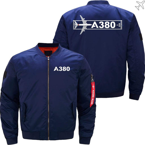 PilotsX Jacket Army green thick / S Airbus A380 Takeoff Time