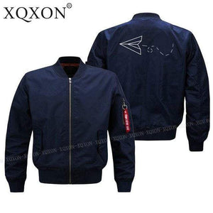 PilotsX Jacket Dark blue thin / S Aviator Paper Airplane Dreams Jacket -US Size