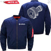 PilotsX Jacket Dark blue thin / S CFM56 Jacket -US Size